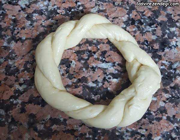 طرز تهیه نان سمیت ترکیه ای