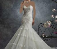 لباس عروس ماهی دنباله دار