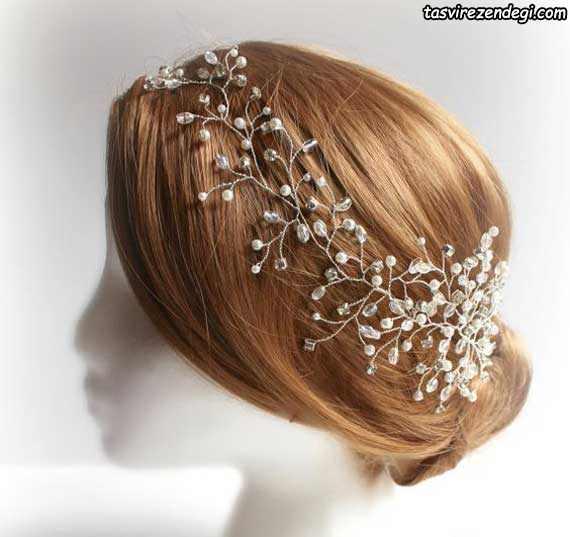 مدل ریسه موی عروس