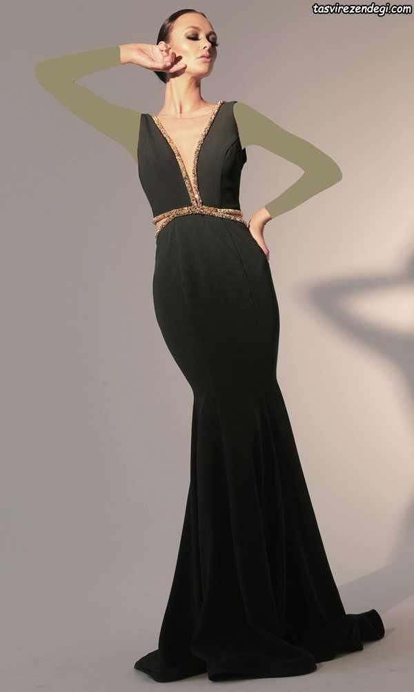 مدل لباس مجلسی شیک مشکی