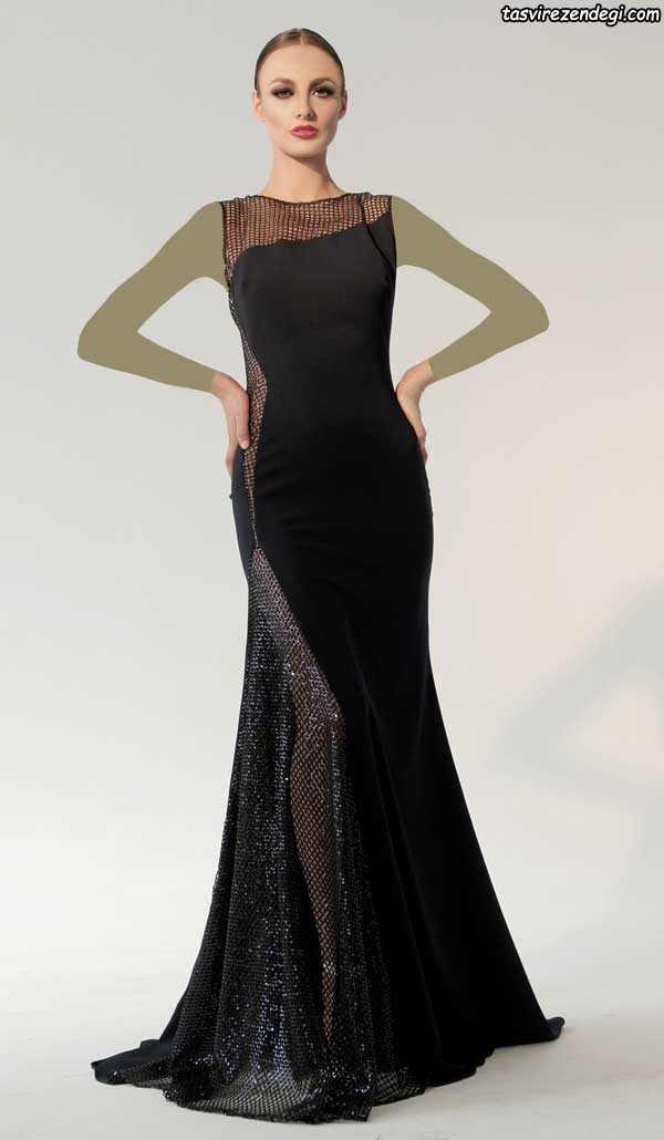 لباس شب شیک مشکی