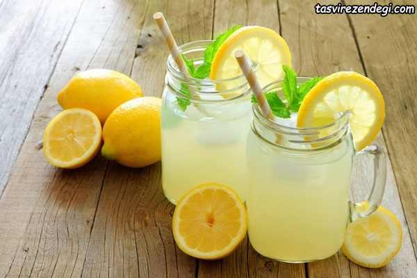 نوشیدنی های خنک تابستانی , لیموناد