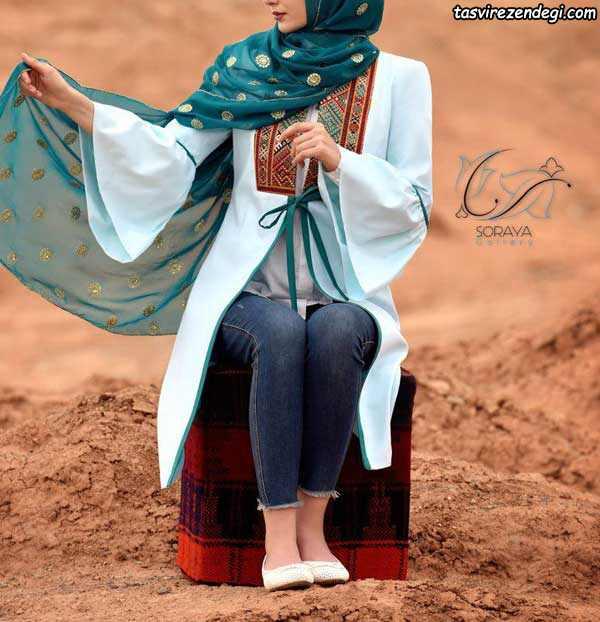 مانتو سنتی دخترانه تابستونی