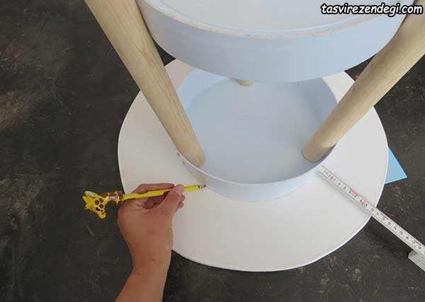 آموزش ساخت میز کنار سالن بازیافتی