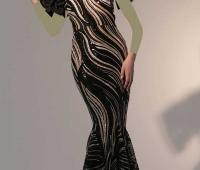 مدل لباس شب دامن ماهی