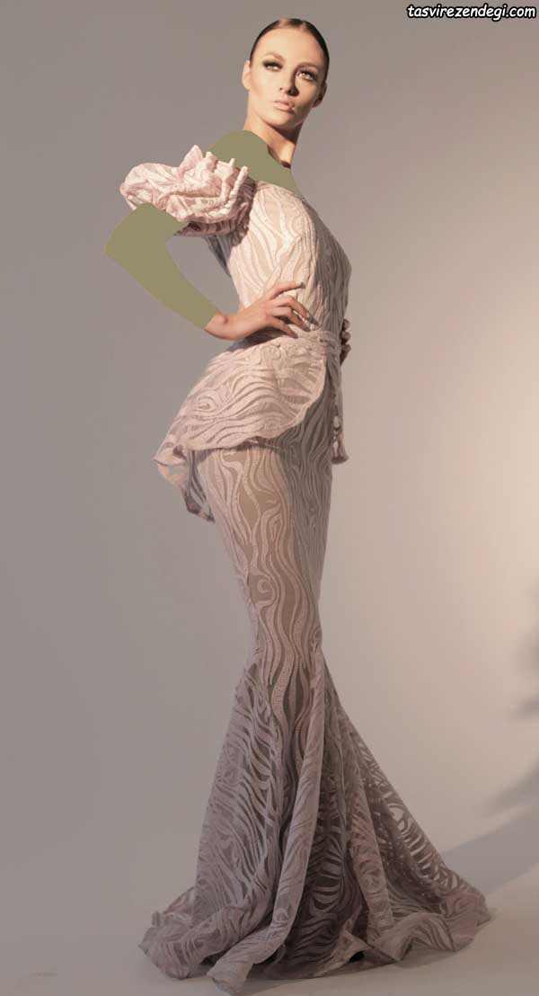 لباس مجلسی مدل پری دریایی