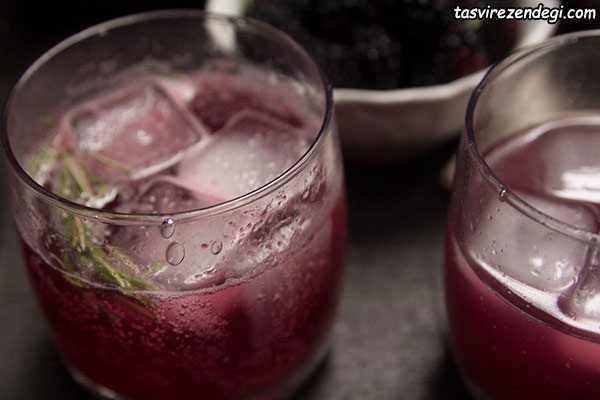 نوشیدنی های خنک تابستانی , شربت شاه توت