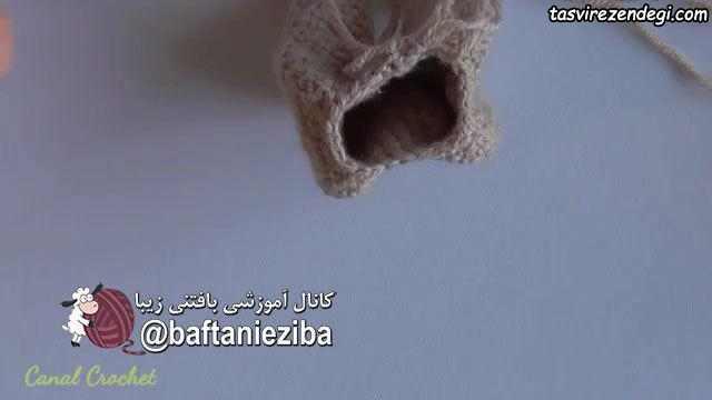 آموزش قلاب بافی , بافت عروسک شیر