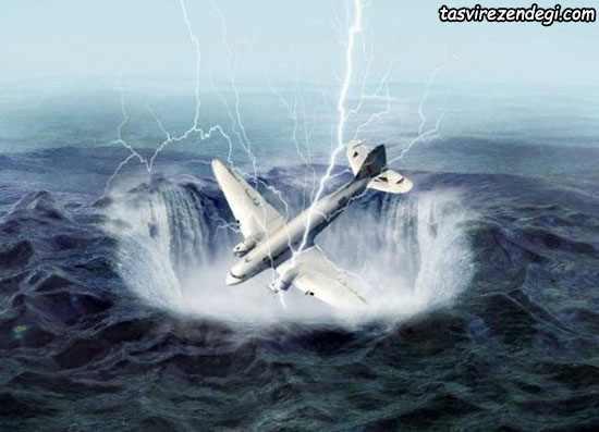 سقوط هواپیما در مثل برمودا