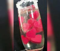 ژله حبابی ولنتاین