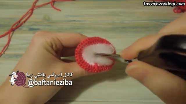 آموزش بافت قارچ قلاب بافی