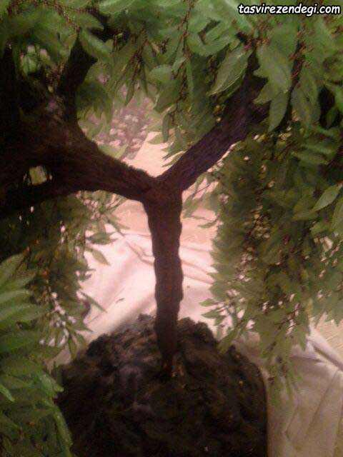 آموزش درست کردن درختچه بید کریستالی