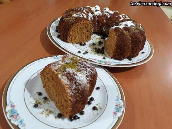 کیک شیره خرما و ارده