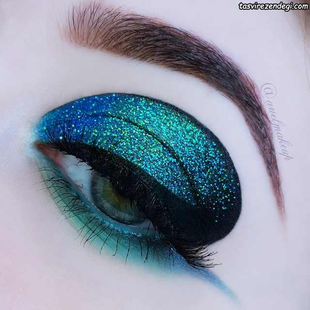آرایش چشم خاص لاکچری