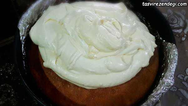 چیز کیک انجیر