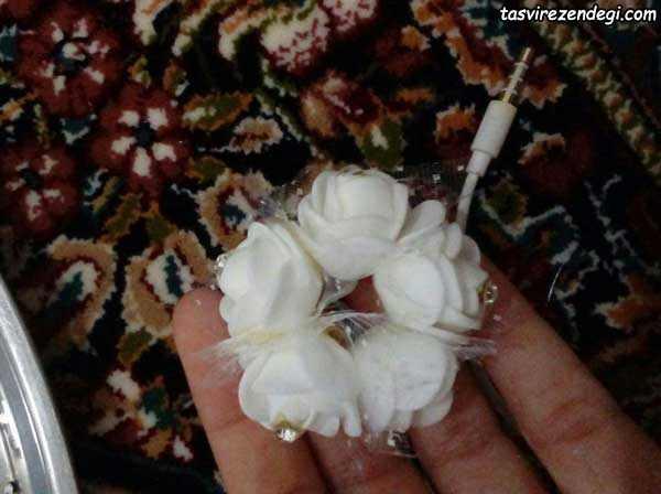 درست کردن گل آیفون