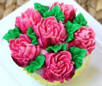 تزیین کاپ کیک با ماسوره