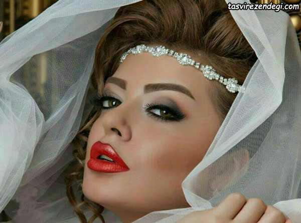 پیشانی بند عروس