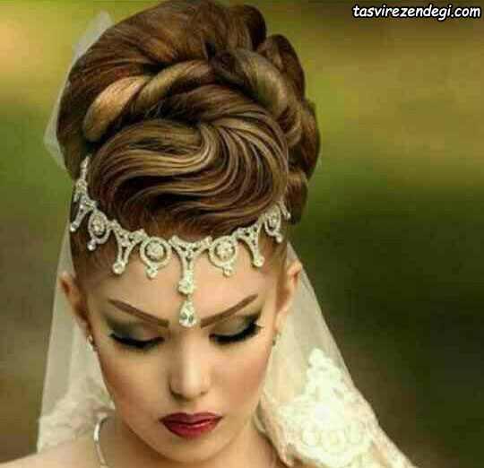 ساخت پیشانی بند عروس