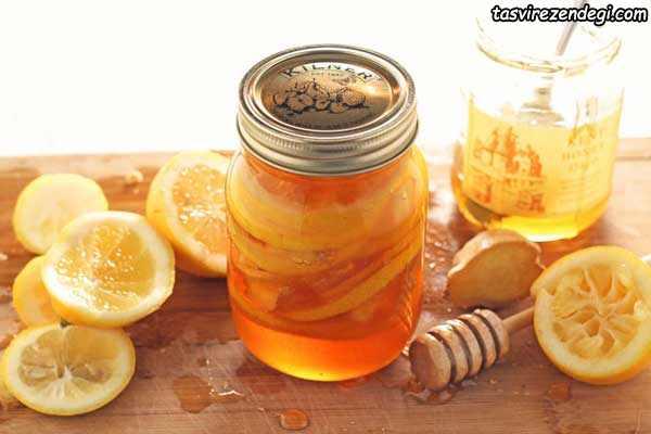 لیمو- عسل-زنجبیل