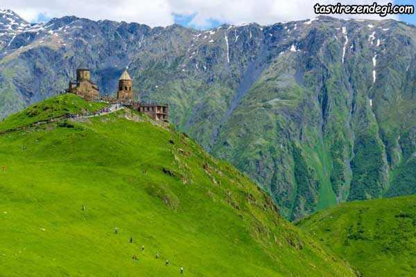 کوه کازبک , سفر به گرجستان