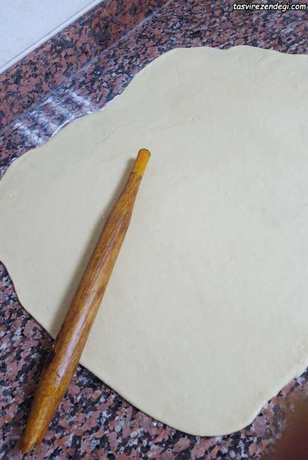 نان رولی دارچینی