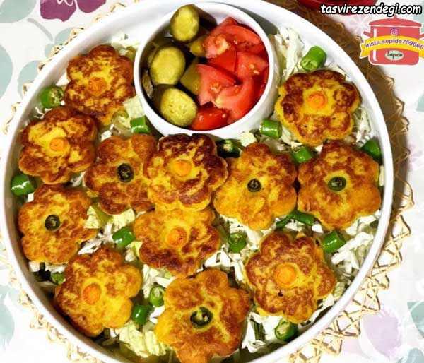 کتلت شیرازی , کتلت بازاری