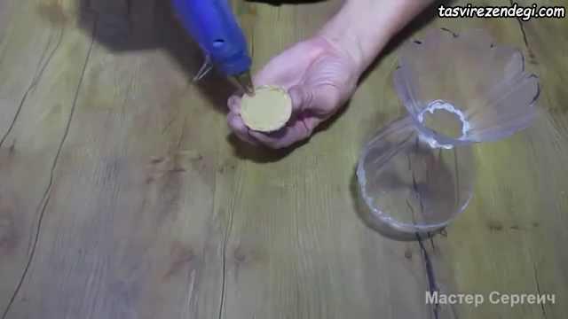 آموزش ساخت گلدان با بطری نوشابه