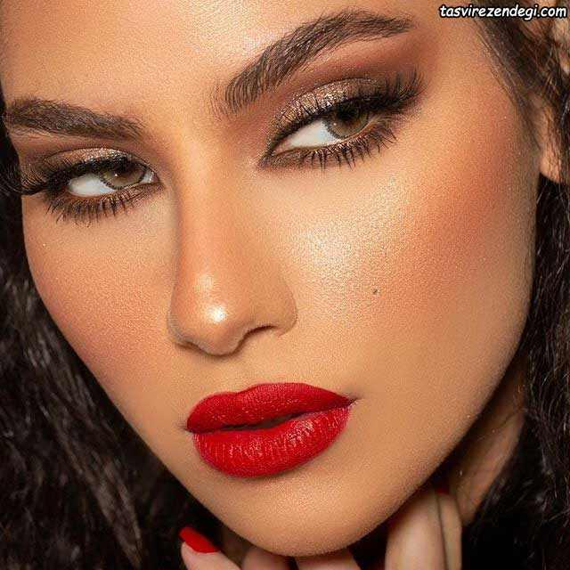 آرایش صورت عربی