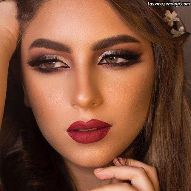 آرایش صورت عربی جذاب