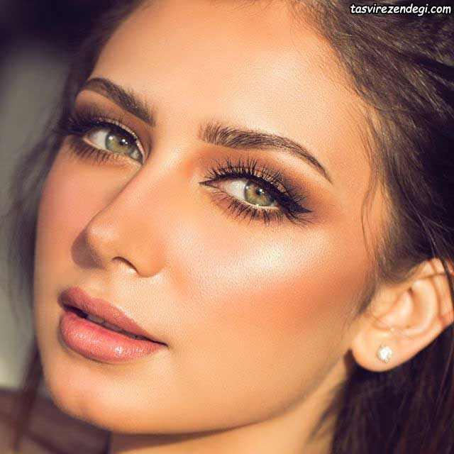 آرایش صورت عربی لایت