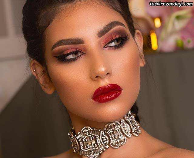 مدل آرایش عربی مجلسی