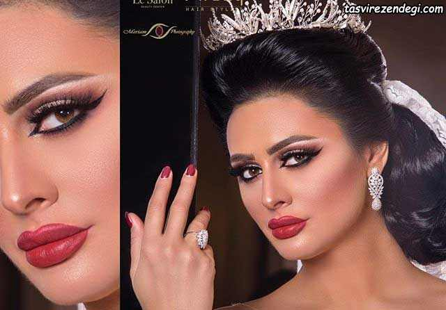 آرایش عروس عربی