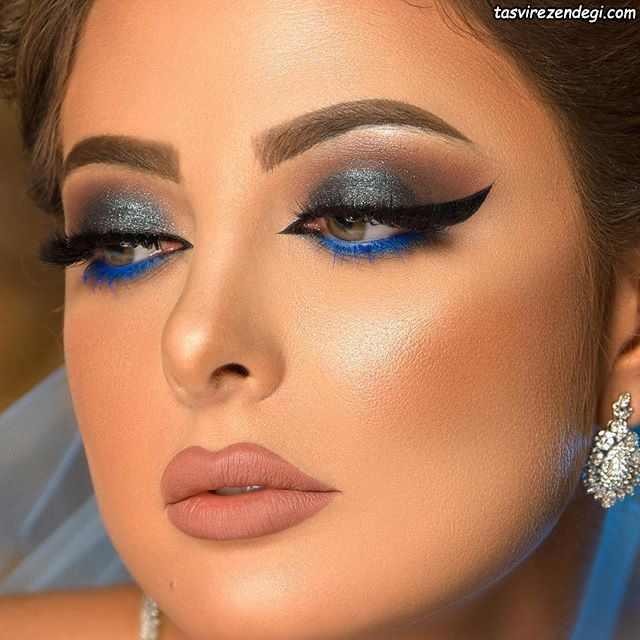 آرایش صورت عربی ، آرایش خلیجی جدید