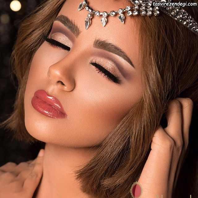 آرایش چشم خلیجی , آرایش عربی