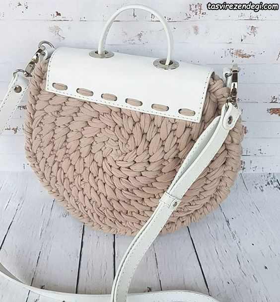 کیف دوشی زنانه تریکو