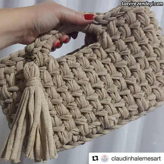 کیف زنانه تریکو