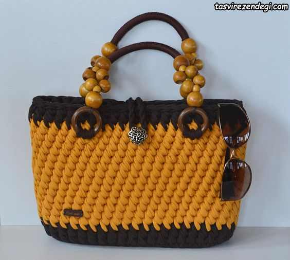 کیف دستی زنانه تریکو