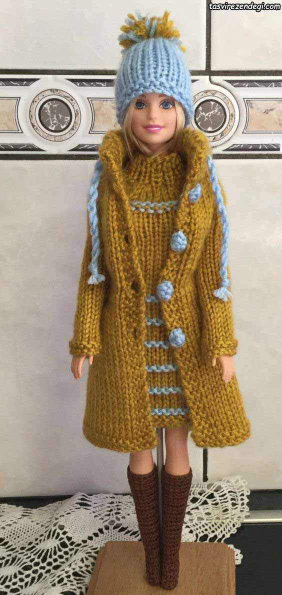 مدل لباس عروسک زمستونی