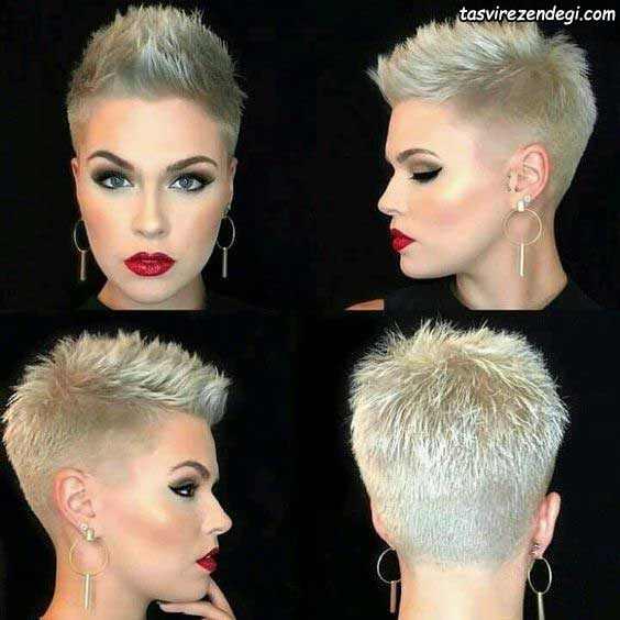 مدل موی کوتاه لاکچری