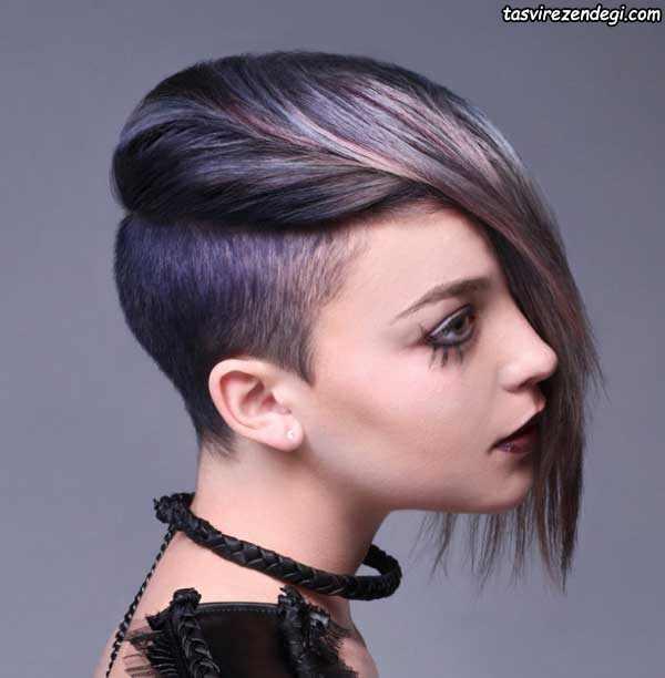 مدل موی کوتاه خاص