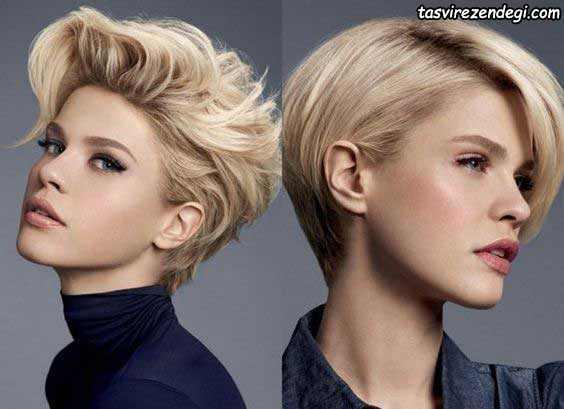 مدل موی کوتاه شیک