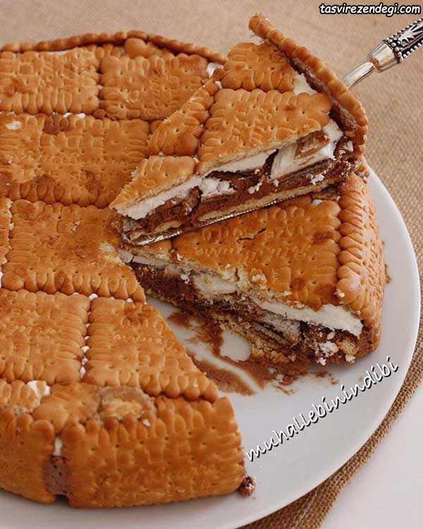 کیک بیسکویت گوفرت