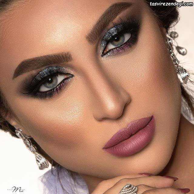 میکاپ صورت عربی