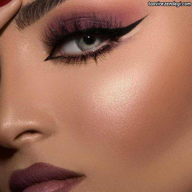 مدل آرایش صورت عربی