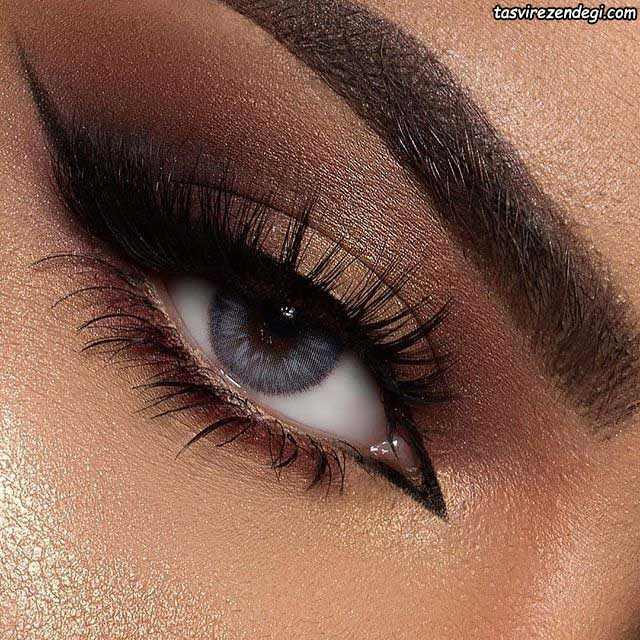 آرایش چشم مجلسی