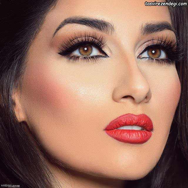 آرایش چهره جدید عربی خلیجی