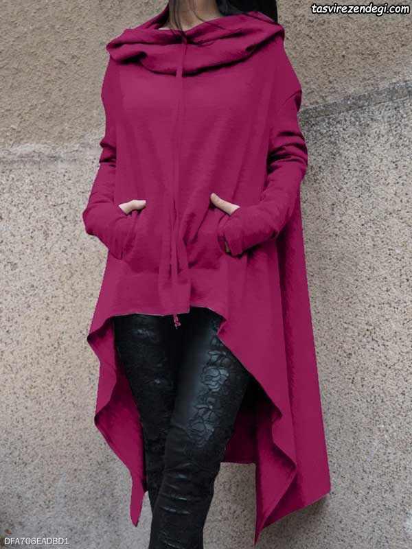 مدل پالتو زنانه و دخترانه کلاه دار