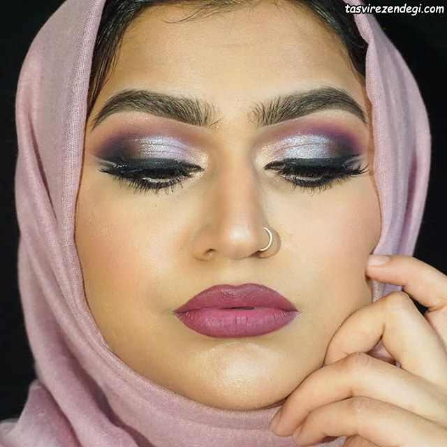 آرایش صورت عربی مجلسی