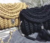 آموزش بافت کیف زنانه مجلسی